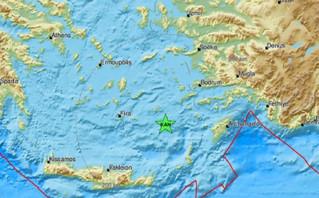 Σεισμός τώρα στην Κάρπαθο