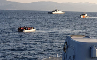 Τουρκική ακταιωρός παρενόχλησε σκάφος του Λιμενικού στα ανοικτά της Λέσβου – Δείτε βίντεο και φωτογραφίες