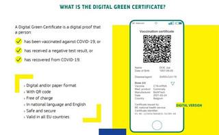 Έρχεται την 1η Ιουνίου το ψηφιακό πράσινο πιστοποιητικό