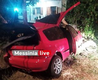 Νεκροί σε τροχαίο δύο 20χρονοι στην Καλαμάτα