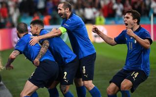 Πρωταθλήτρια Ευρώπης η Ιταλία για 2η φορά στην ιστορία της, νίκησε την Αγγλία στο Γουέμπλεϊ