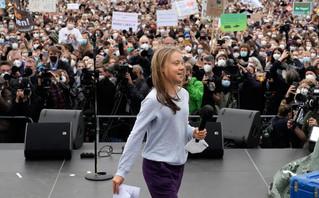 Η Γκρέτα Τούνμπεργκ μιλά στη Γερμανία για το κλίμα