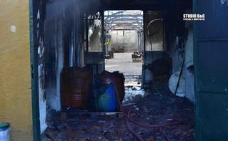Πυρκαγιά σε θερμοκηπίο στο Ναύπλιο