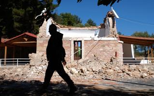 Ζημιές από τον σεισμό στην Κρήτη