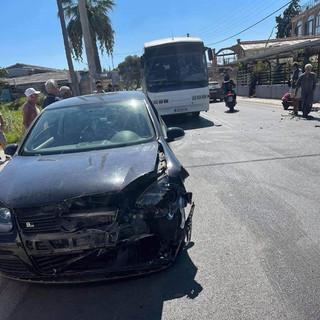 Τροχαίο ατύχημα στη Λούτσα